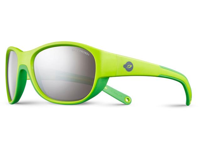 Julbo Luky Spectron 3+ Sunglasses Kids 4-6Y Green/Green-Gray Flash Silver